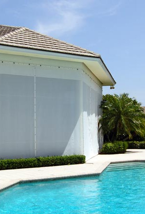 StormWatch Hurricane Screens can be made to match your house.